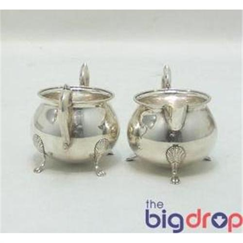 F.B. Rogers Sterling Silver sugar and creamer #916551
