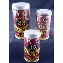 Advertising Tins, KC Baking Powder