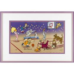 Hanna-Barbera  Fastbreak  Limited Edition Cel  Fastbreak  Limited Edition Cel Original Art, 4/400 (H