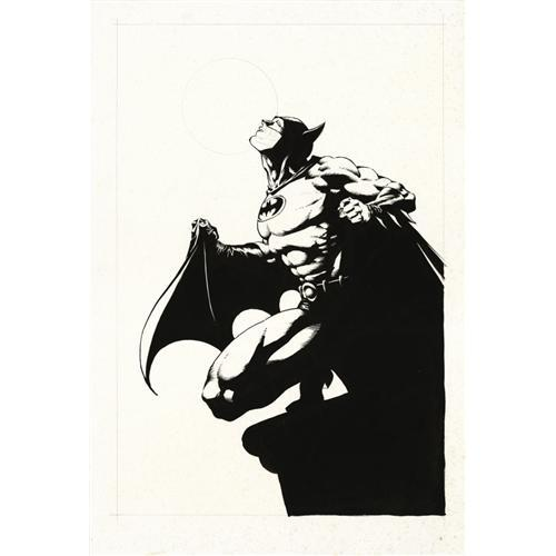 BATMAN BY BERNIE WRIGHTSON