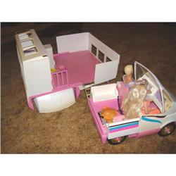 1988 Mattel Inc. Barbie Mobile Camper #895393