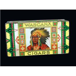 Wascana Cigars Tin Box