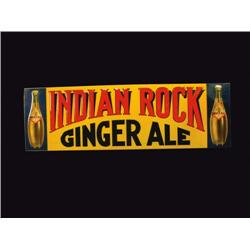 Indian Rock Ginger Ale Tin Sign