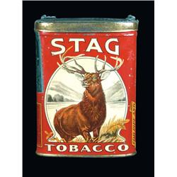 Stag Tobacco Pocket Tin