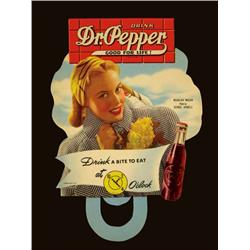 Dr. Pepper Die Cut Bottle Toppers