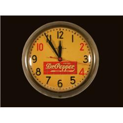 Dr. Pepper General Electric Clock