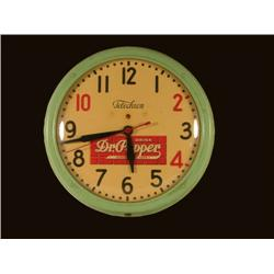 Dr. Pepper Telechron Clock