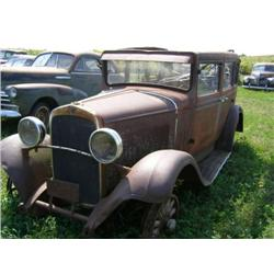 1929 DODGE BROTHERS. 4DR SEDAN