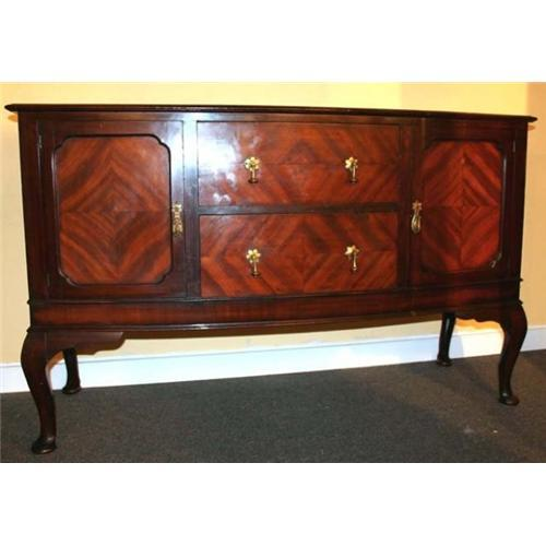1930s mahogany queen anne sideboard buffet 1017944 for Sideboard queens