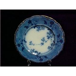 Flow Blue Ridgways  Lugano  Plate #1088047