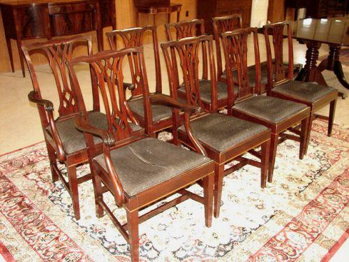 ... Image 2 : POTTHAST MAHOGANY DINING CHAIRS ...