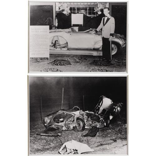 """Photos Of James Dean And """"The Little Bastard"""""""