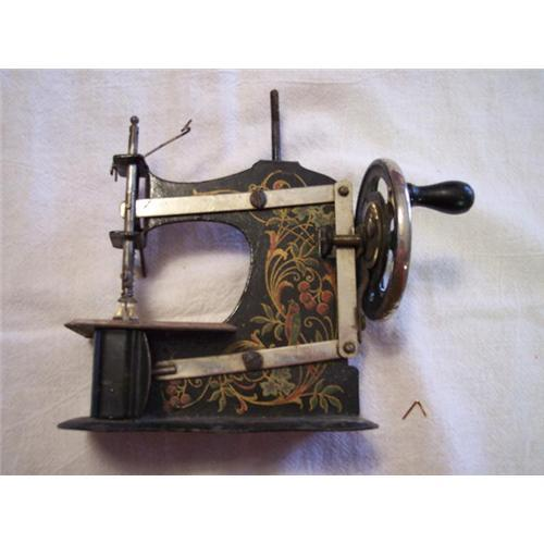 antique childs sewing machine