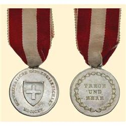 Medal - SWITZERLAND - The Federal Honour Medal 1815