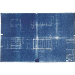 Frank Lloyd Wright  quot Fallingwater quot  Blueprints Falling Water Blueprints