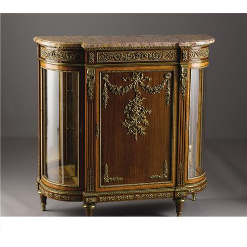a french louis xvi style meuble d 39 appui. Black Bedroom Furniture Sets. Home Design Ideas