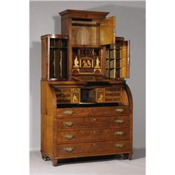 A baltic neo classical bureau secretaire for Bureau secretaire