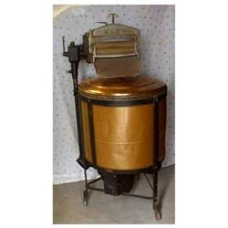 Antique Copper Wringer Washing Machine 1912 #1150441