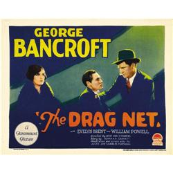 The Drag Net (Paramount, 1928). Title Lobby Card (11  X