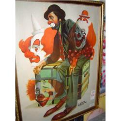 Oberstein Clown Print