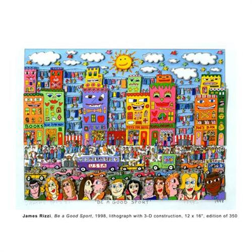be a good sport 3d by james rizzi 1194131