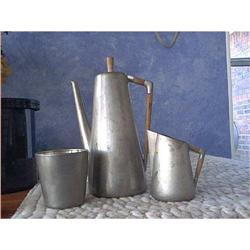 Royal Holland Pewter Tea Set KMD  #1212305