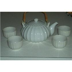 M.O.C. Japan Teapot With 4 Cups #1220585