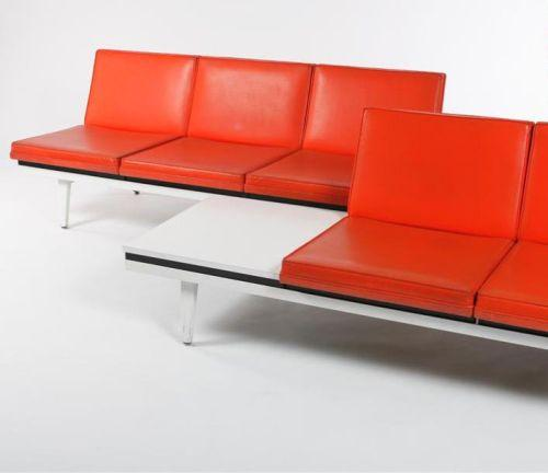 Steel frame sofa bench w back stainless steel frame by diamond sofa black thesofa Steel frame sofa