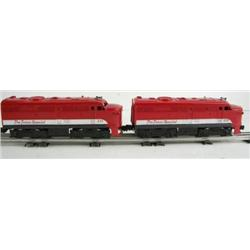Lionel 211 Texas Special Alco AA Units
