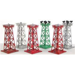 6 Lionel Towers Beacons 394 395