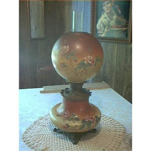 P J Handel Gone With The Wind Oil Lamp 1225144