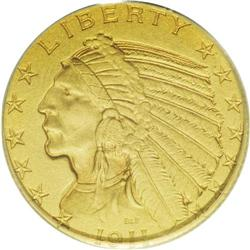 1911 $5 PR65 PCGS. Today, matte proof gold coins are a