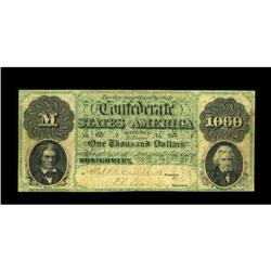 T1 $1,000 1861. The Montgomery issue $1000 was the only