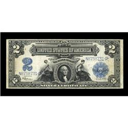 Fr. 258 $2 1899 Silver Certificate Fine-Very Fine. Curr 