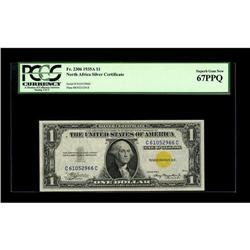 Fr. 2306 $1 1935A North Africa Silver Certificate. PCGS