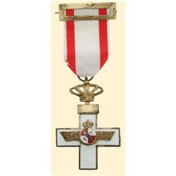 Medal - SPAIN - ORDER OF THE AERONAUTICAL MERIT (1949)