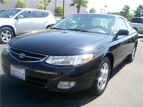 2001 toyota camry solara 2 door 65427mi. Black Bedroom Furniture Sets. Home Design Ideas