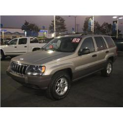 2003 jeep grand cherokee suv 41372 mi for Autosweet housse