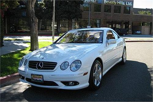 2005 mercedes benz cl500 25 670 mi for Autosweet housse