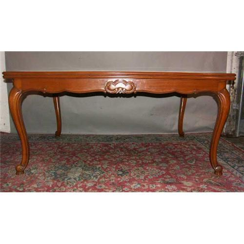 Nice french country style cherry wood table 1357143 for Nice table styles