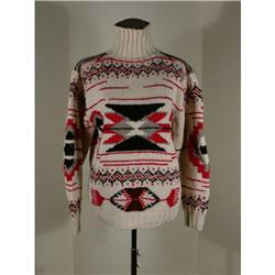 Ralph Lauren Hand Knit Navajo Sweater L #1285392