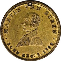 1840 Martin Van Buren, HT-A800, R.3, Uncirculated, Unce 