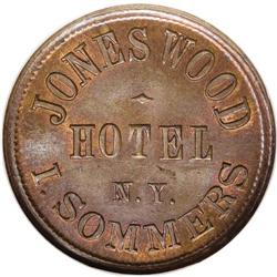 1863 I. Sommers Jones Wood Hotel, Fuld-NY-630BR-1a, R.2
