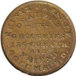 1863 Heintz and Henkle, Grocers, Fuld-OH-200B-2a, R.8,