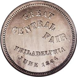 1864 Great Central Fair, Philadelphia, PA, Fuld-PA-750L