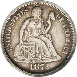 1872-CC 10C --Improperly Cleaned--NCS. AU Details. The