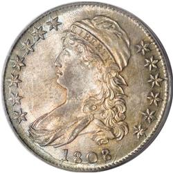 1808/7 50C MS64 PCGS. O-101, R.1. Although the Overton