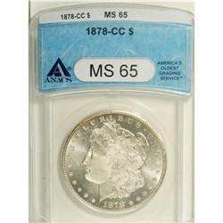 1878-CC S$1 MS65 ANACS. VAM-11. A Top 100 Variety. The