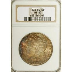 1878-CC S$1 MS65 NGC. Each side has a captivating blen