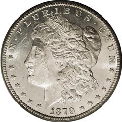1879-CC S$1 MS61 PCGS. This is a sharply struck exampl